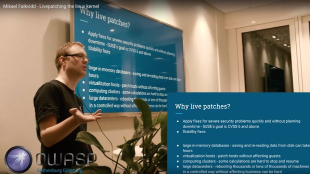 Linux kernel live patching med kPatch och kGraft