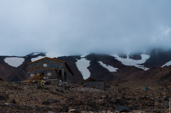 Campen på 4200 moh