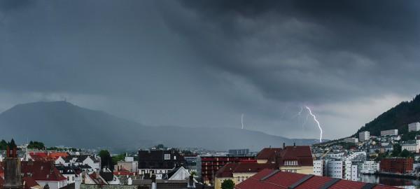 Lyn over Bergen
