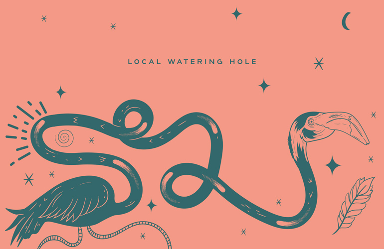Magic Flamingo – Local Watering Hole