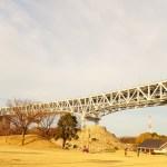 道の駅瀬戸大橋記念公園は瀬戸大橋を間近で見ることができ子供に大人気の道の駅?