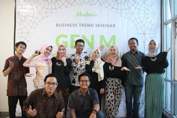Moeslema Team + FEB UGM Team. -Moeslema.com-