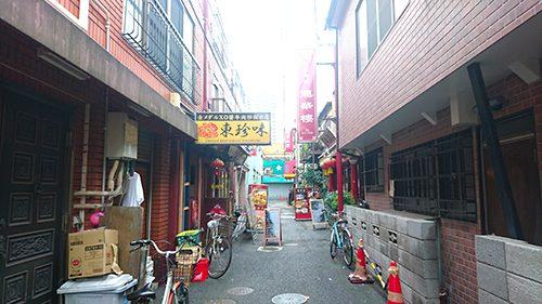 横浜中華街路地