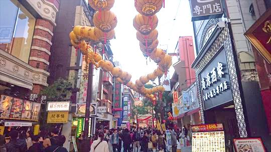 横浜中華街春節