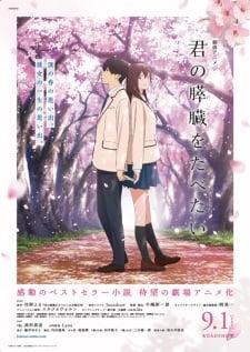 Kimi no Suizou wo Tabetai BD Movie Subtitle Indonesia