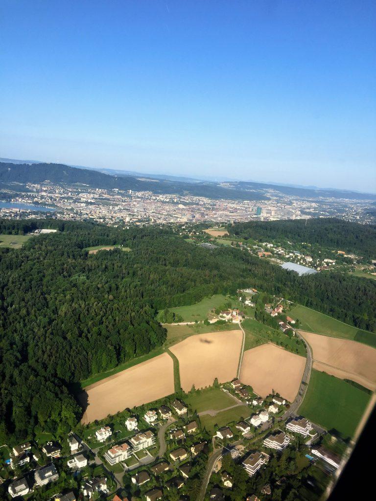 Suisse depuis l'avion