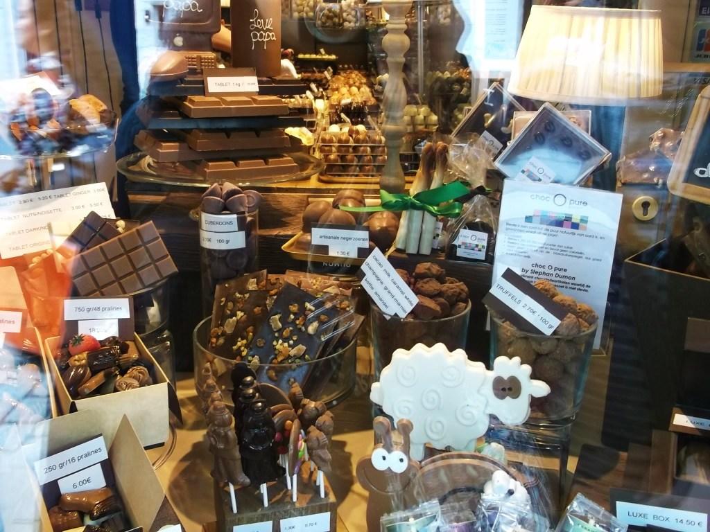 Chocolat, Bruges