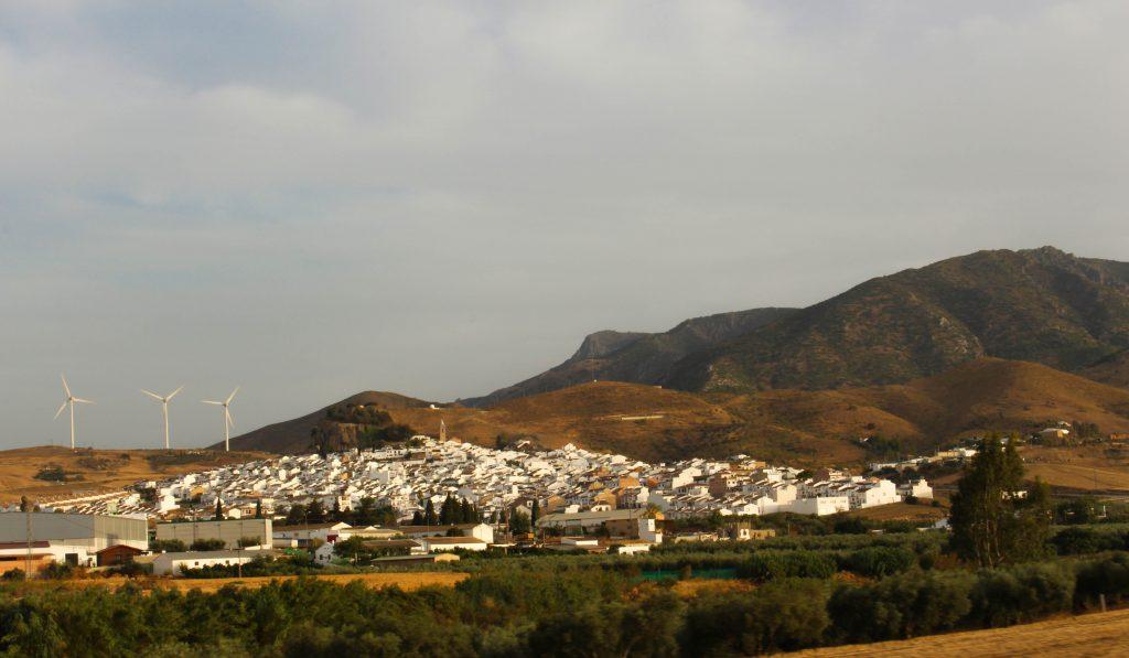Village blanc, autoroute