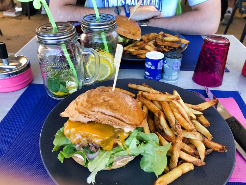 Burger and the juice île rousse