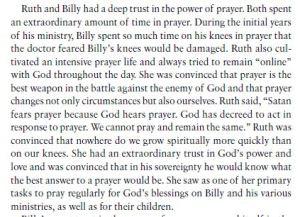 Billy and Ruth Graham prayer