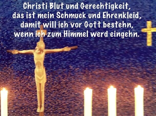 Zinzendorf Christi Blut und Gerechtigkeit