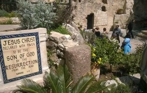 Jeesuksen tyhjä hauta Jerusalemissa