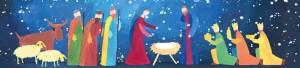 Joulu_Kuninkaat ja paimenet Jeesuksen luona