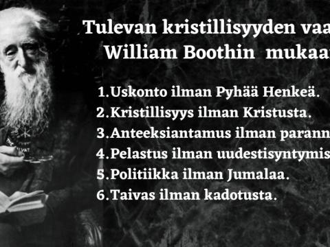 Lopun ajan kristillisyys profetia William Booth