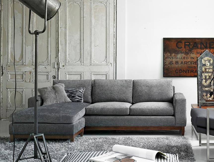 sofa liquidation sale billy baldwin tuxedo ellis flip sectional - mikaza meubles modernes montreal ...