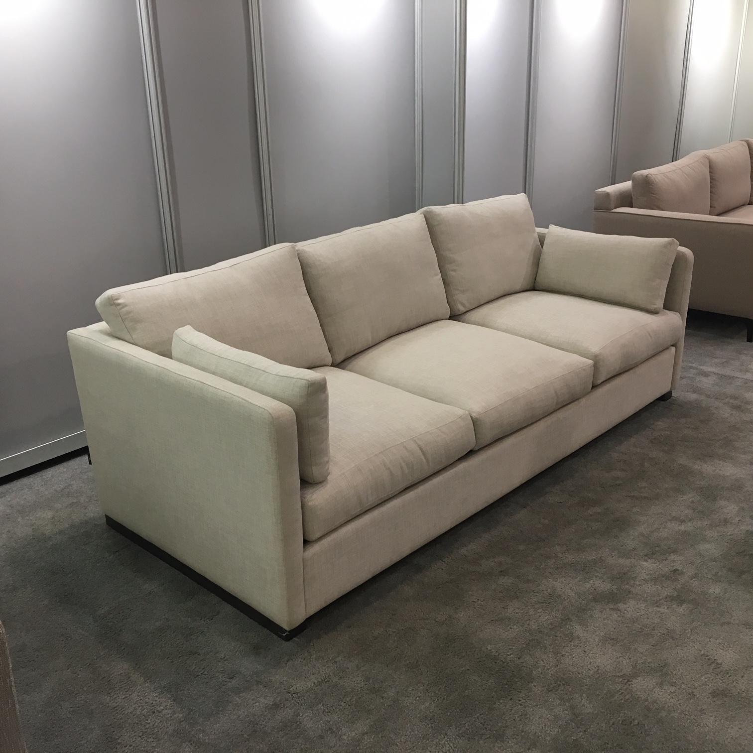 condo sized sectional sofa ottawa vintage brown leather aberdeen mikaza meubles modernes