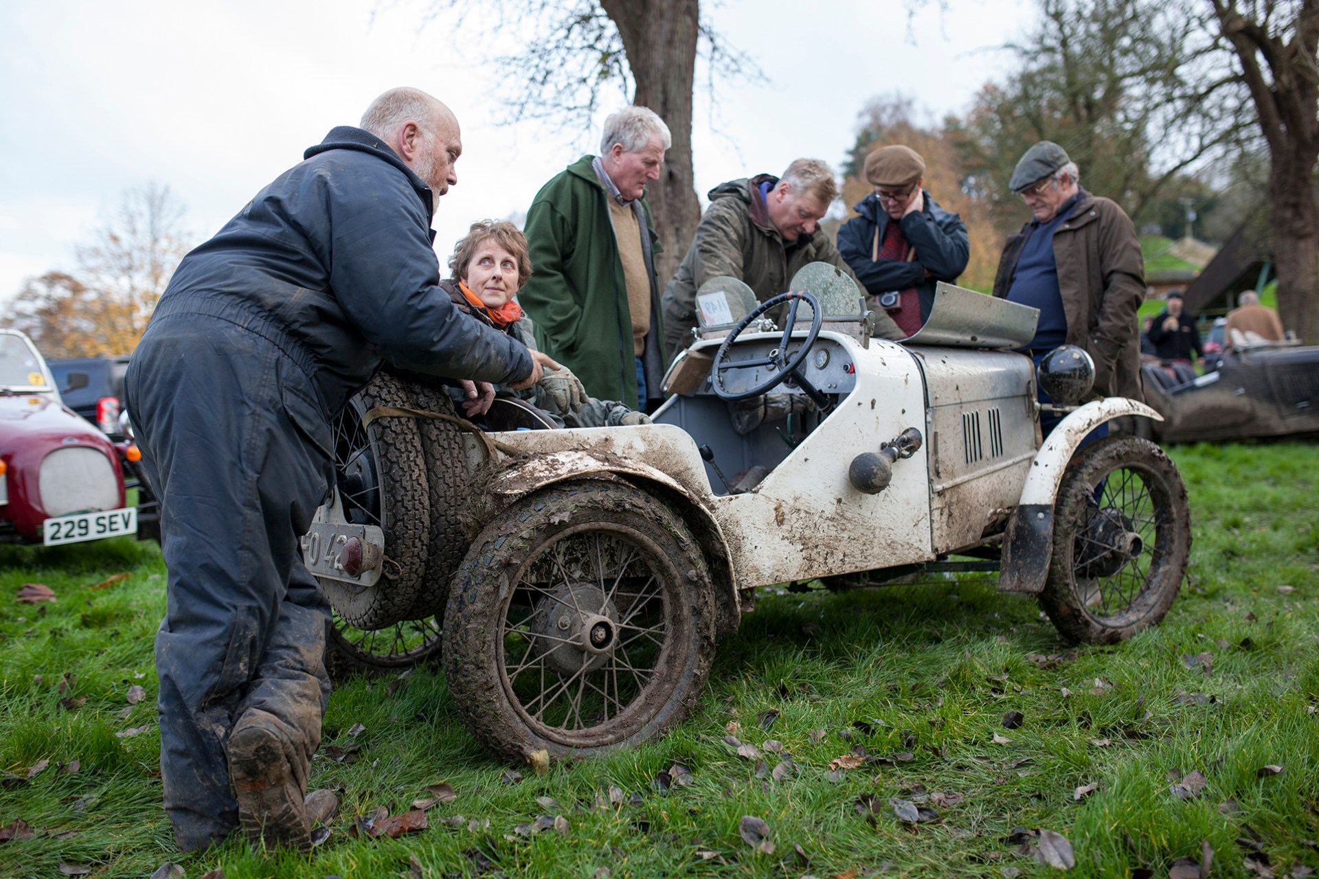 2014 VSCC Cotswold Trial at Prescott.
