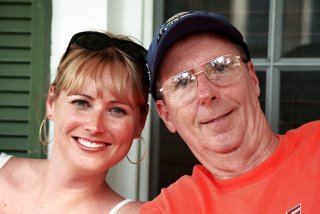 Chris and her father