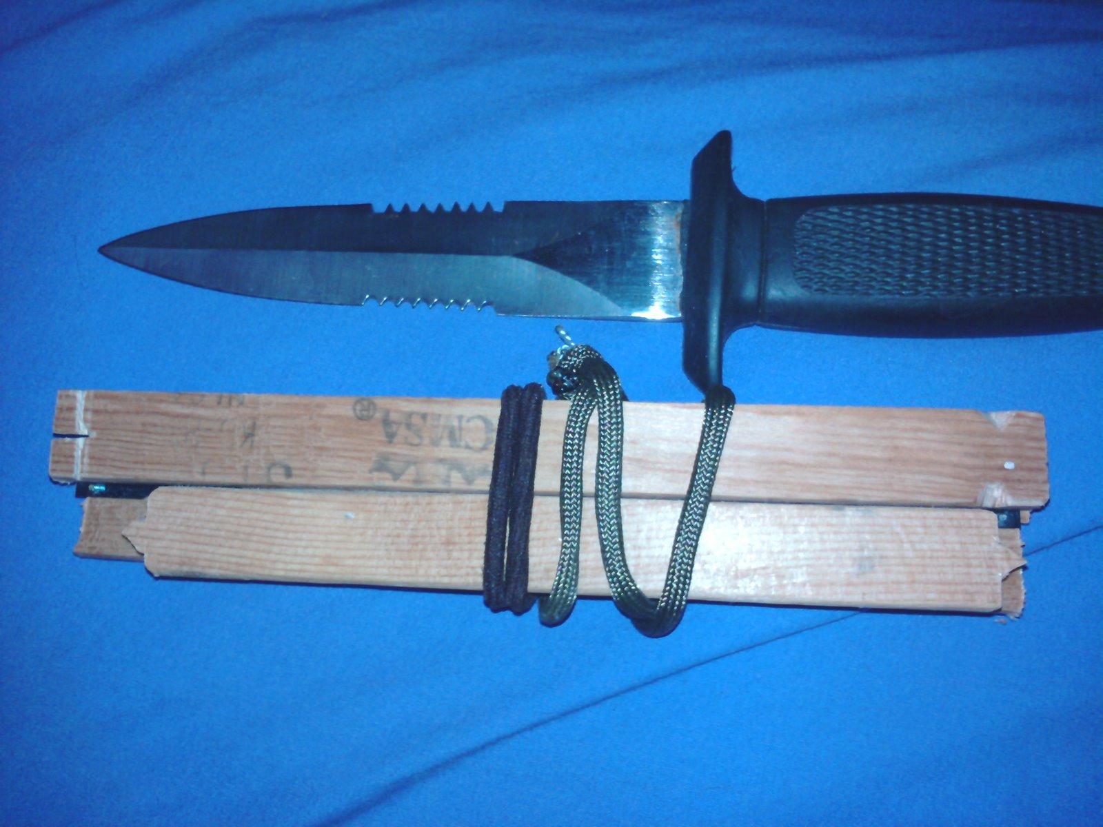 Mini Woodsman Bucksaw Out Of A Hacksaw Blade Creuzer