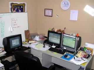 my mess at work