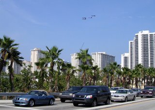 The Blue Angels at the 2006 Fort Lauderdale Air and Sea Show