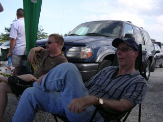 Tailgating at the Dave Mathiews Band Concert