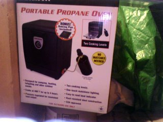 Brinkmann Portable Propane Oven
