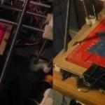 Rebuilt build platform for my MakerGear Prusa Mendel RepRap with mirror