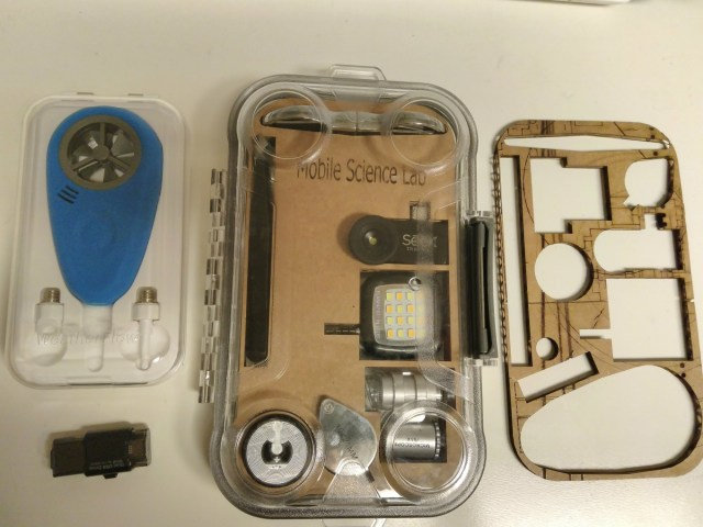layout of pieces for the Mobile Science Lab