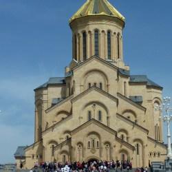 """Tsminda Sameba (""""holy trinity"""") cathedral"""