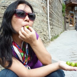 """The sour but refreshing alucha is an unripened """"almost-plum"""""""