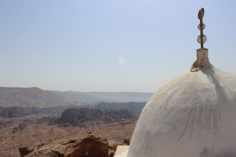 white dome of Aaron temple