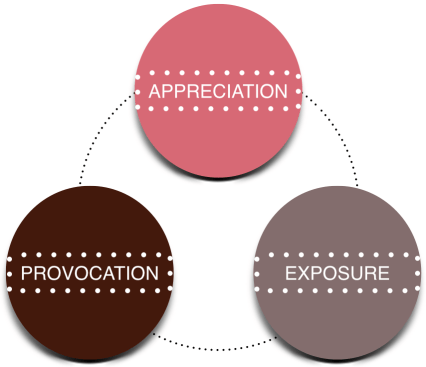 Appreciation-Provocation-Exposure