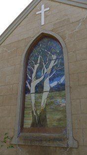 Image of St Michael and All Angels Hall, ACT Stained Glass Window