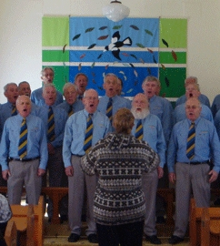 Image of St Michaels Rugby Choir Visit