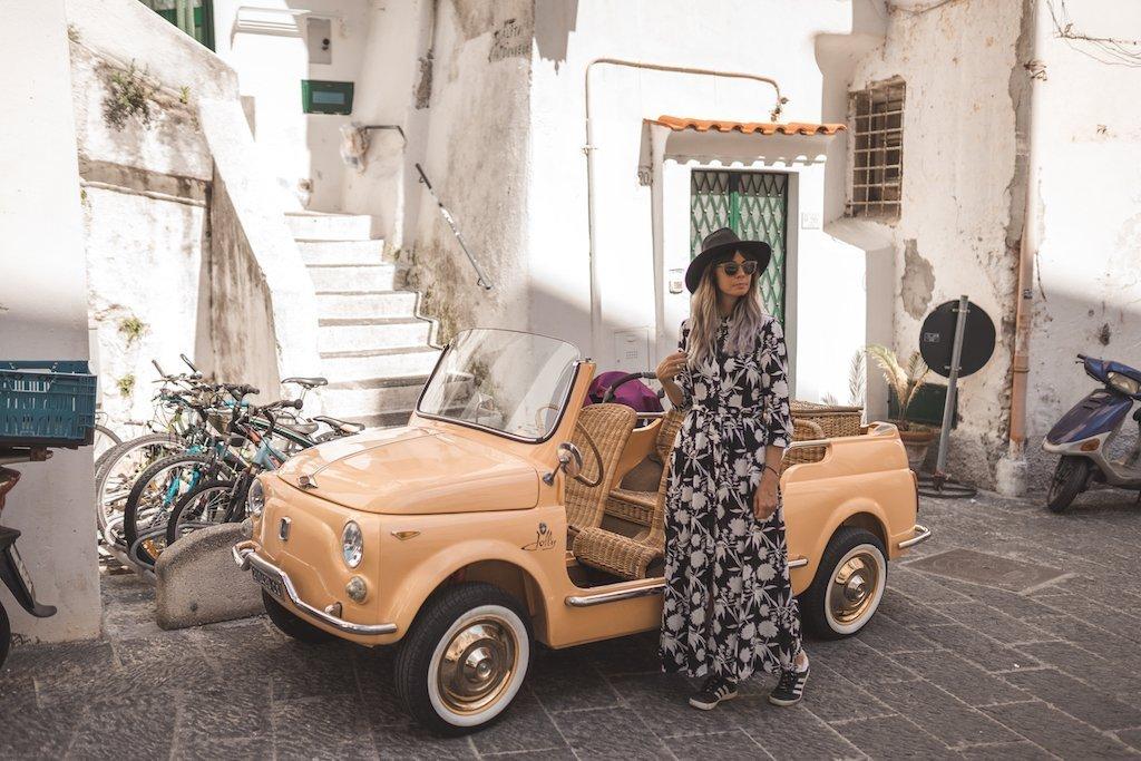 como moverse por la Costa Amalfitana
