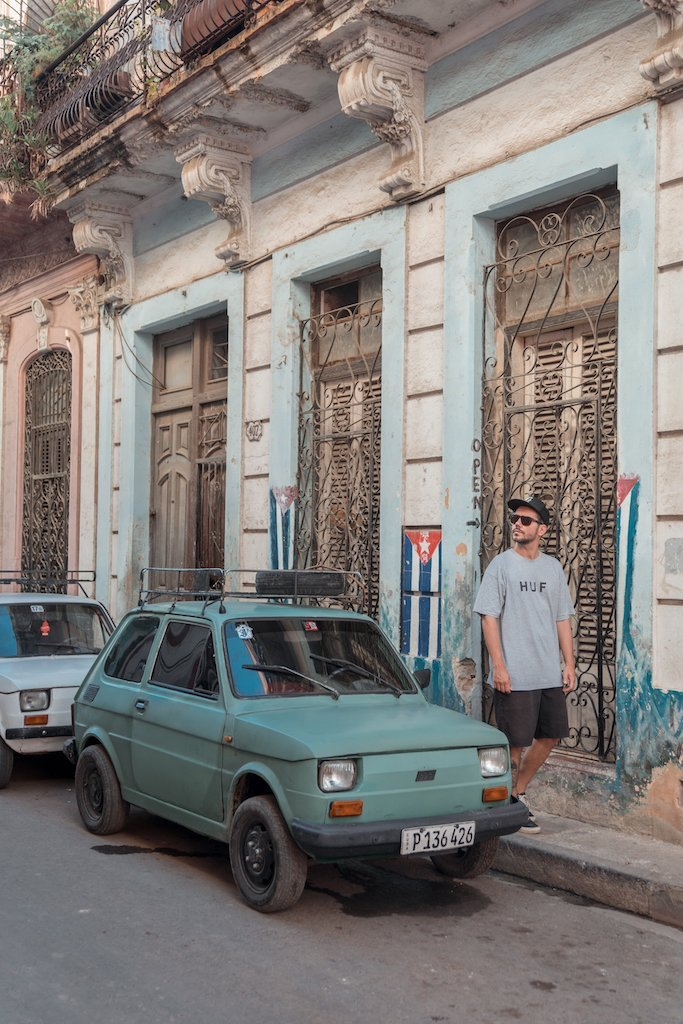 alquilar coche Cuba