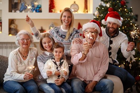 holiday family