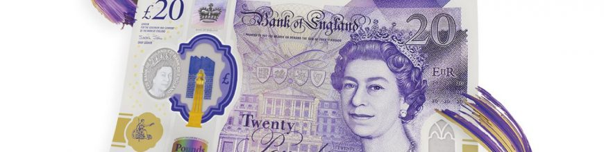 New polymer £20 featuring painter Turner enters circulation 🇬🇧💷📰