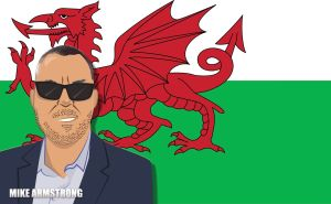 #MikeArmstrong #WelshDragon