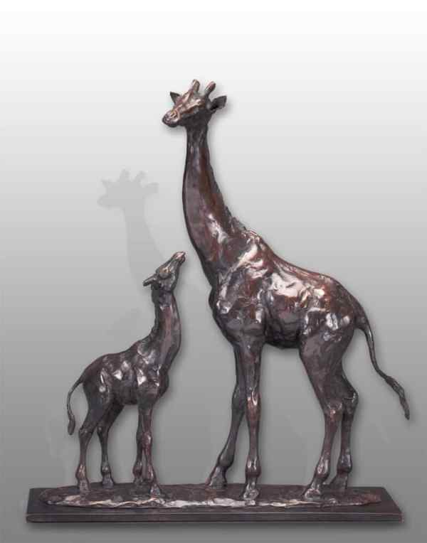 Wildlife Art African Bronze Sculpture Mike Barlow Sculptor