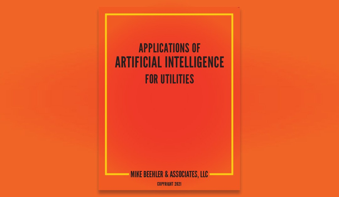 Applications of Artificial Intelligence for Utilities