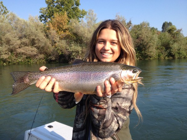 Mike Bogue Guide Service Sacramento River Trout Fishing