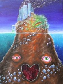 """Acrylic on Canvas 11"""" x 14"""""""