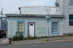 291 Charlotte Street Blue House Photograph