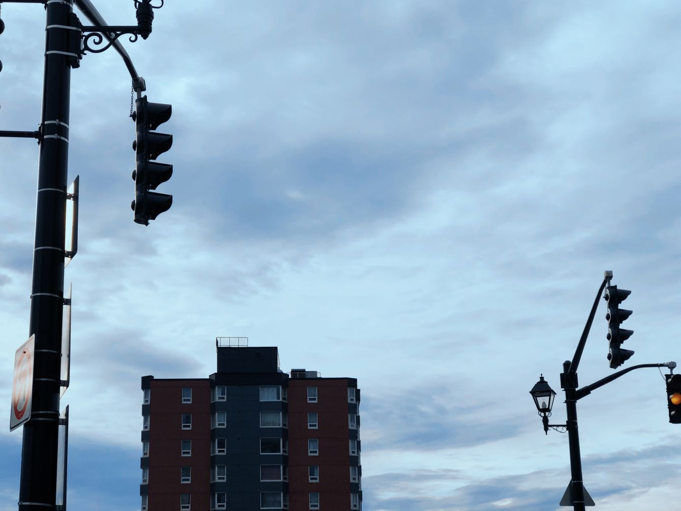 Click thumbnail to see details about photo - Union Street Intersection Saint John Photograph