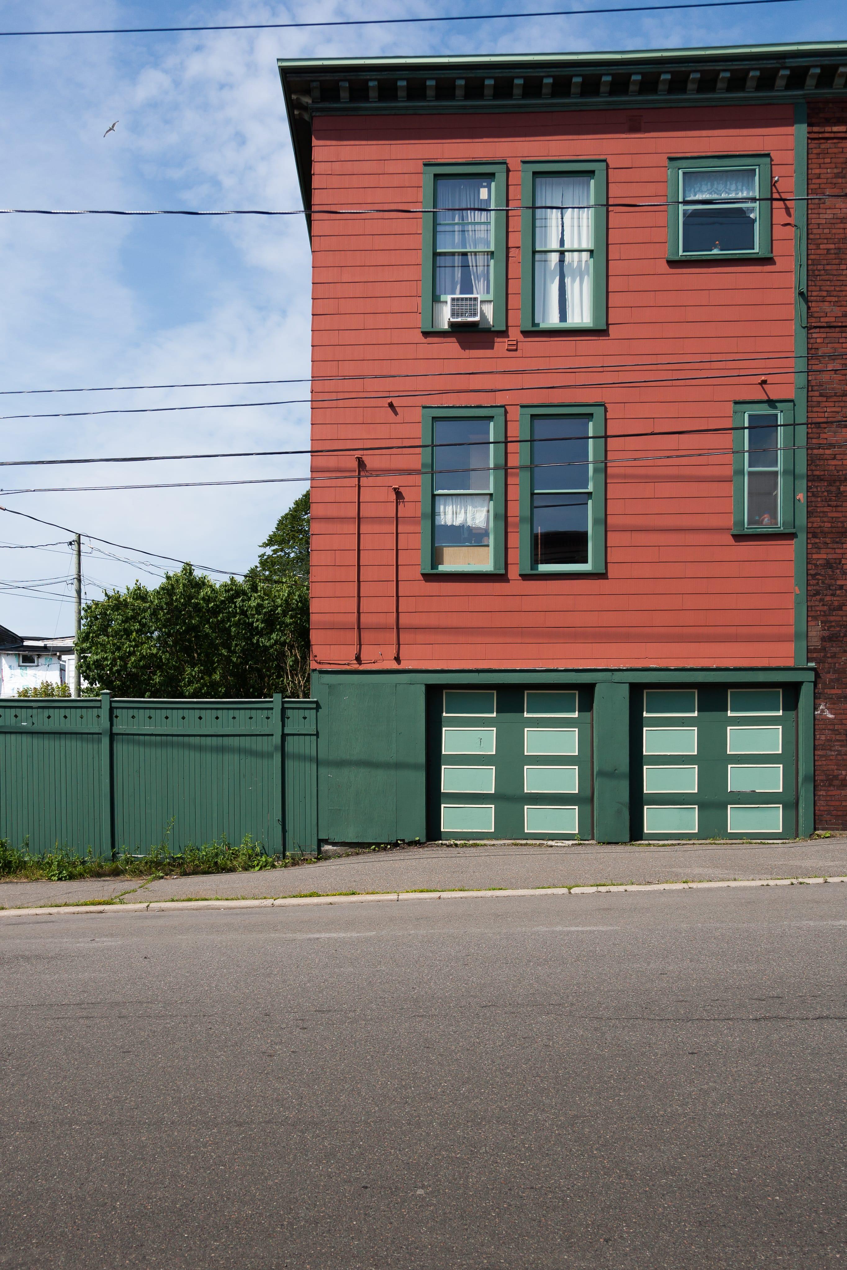 A photograph depicting Duplex on Charlotte Street