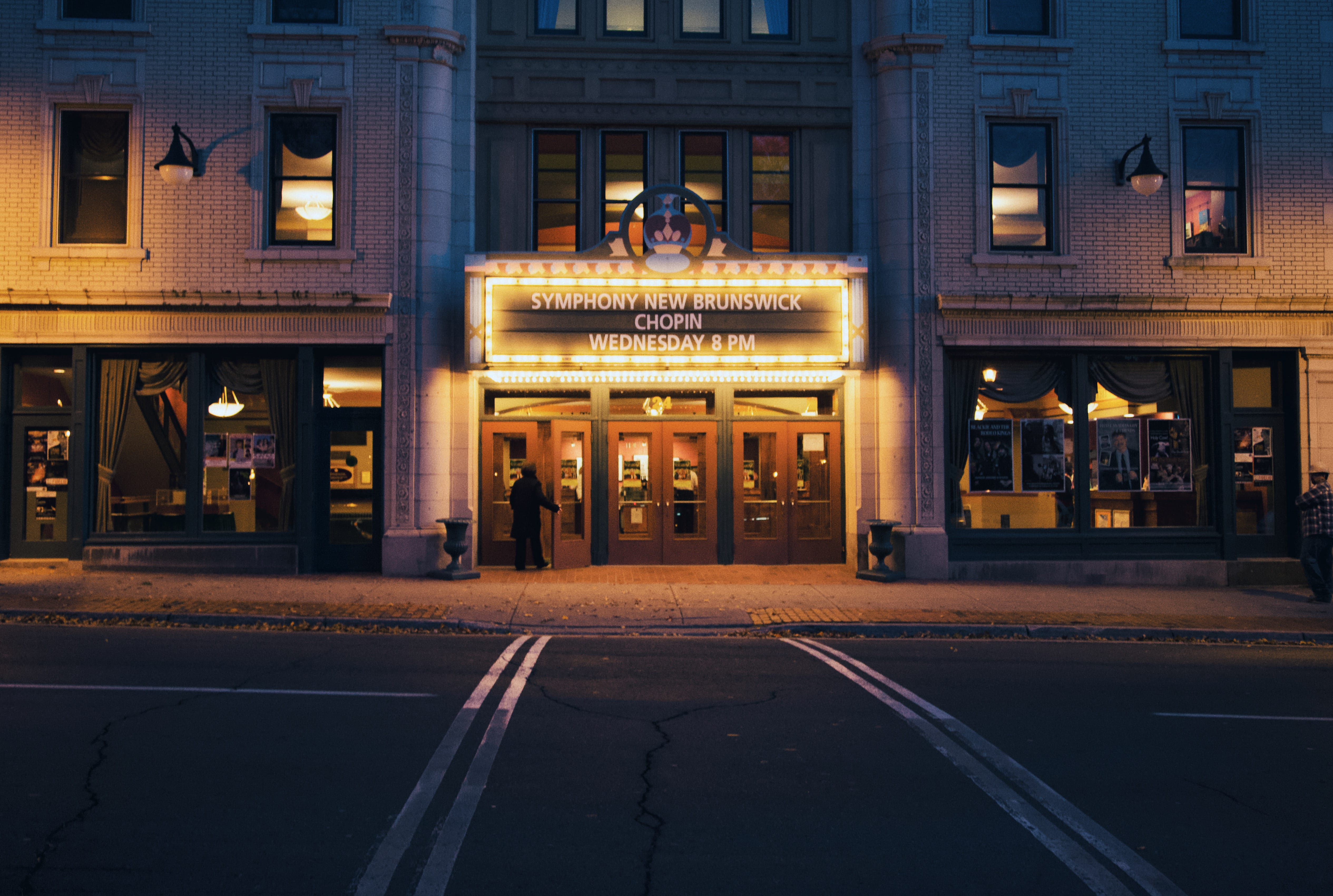 A photograph depicting Front of Imperial Theatre
