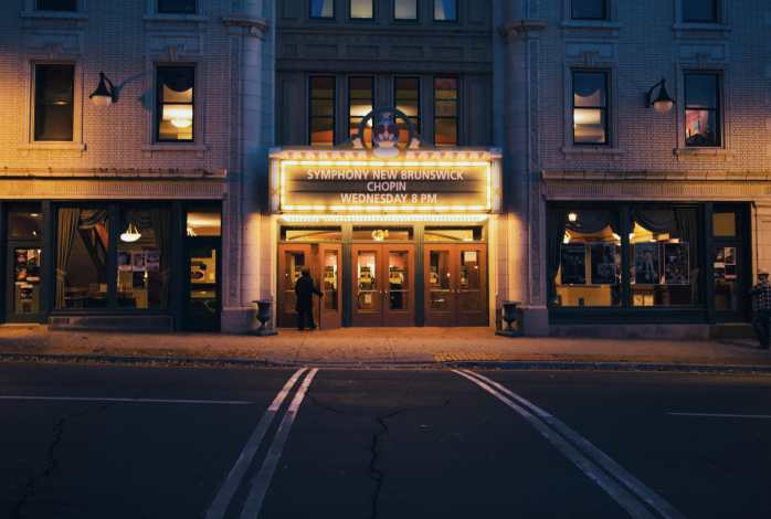 Front of Imperial Theatre Photograph