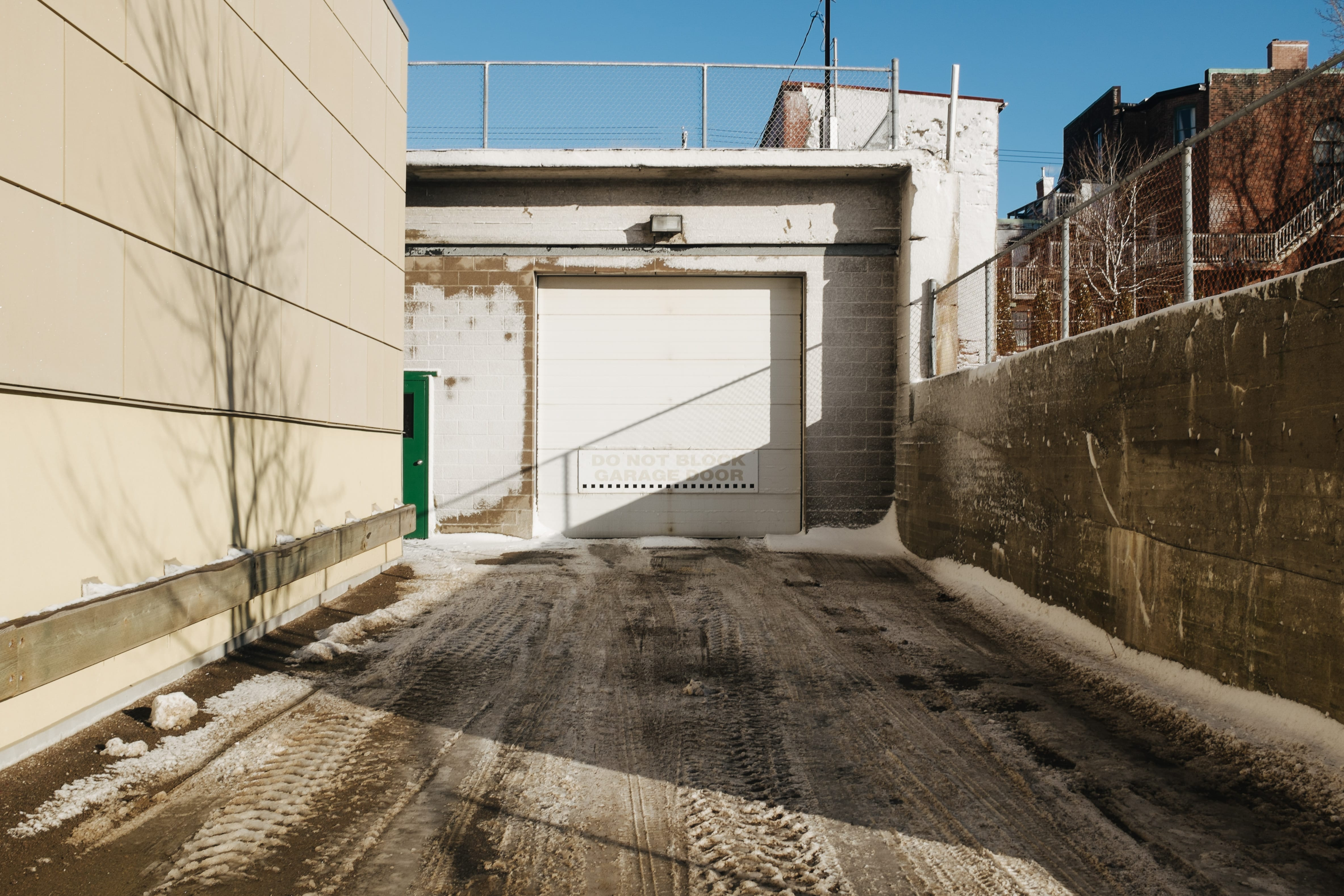 A photograph depicting Imperial Theatre Loading Dock